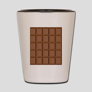 Chocolate Tiles Shot Glass