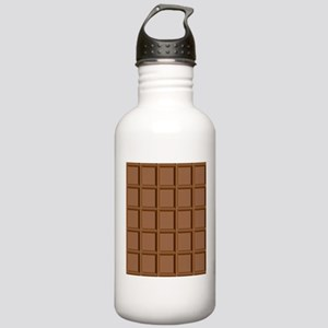 Chocolate Tiles Sports Water Bottle