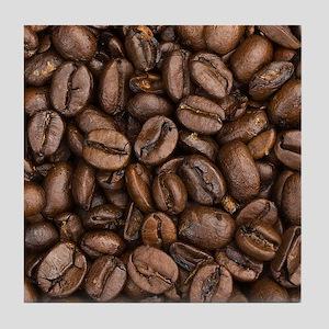 Coffee Beans Tile Coaster