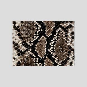 Snake Skin 5'x7'Area Rug