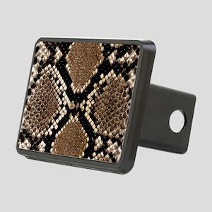 Snake Skin Rectangular Hitch Cover