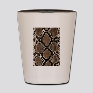 Snake Skin Shot Glass