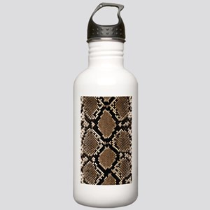 Snake Skin Sports Water Bottle