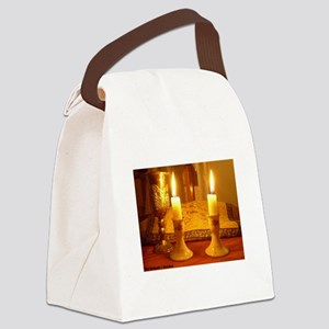 The Sabbath - Shabbat Canvas Lunch Bag