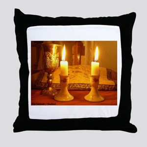 The Sabbath - Shabbat Throw Pillow