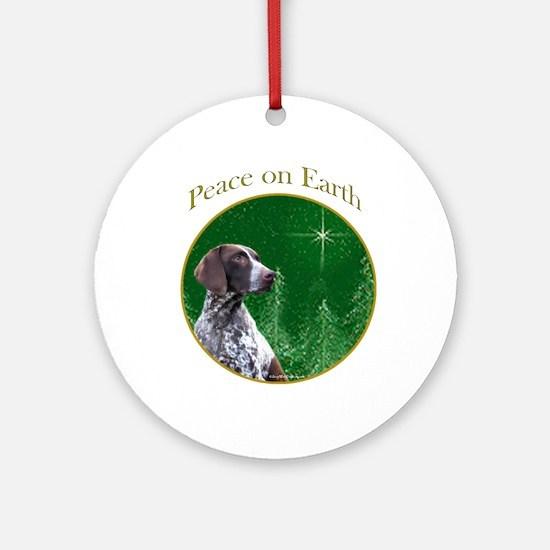 GSP Peace Ornament (Round)