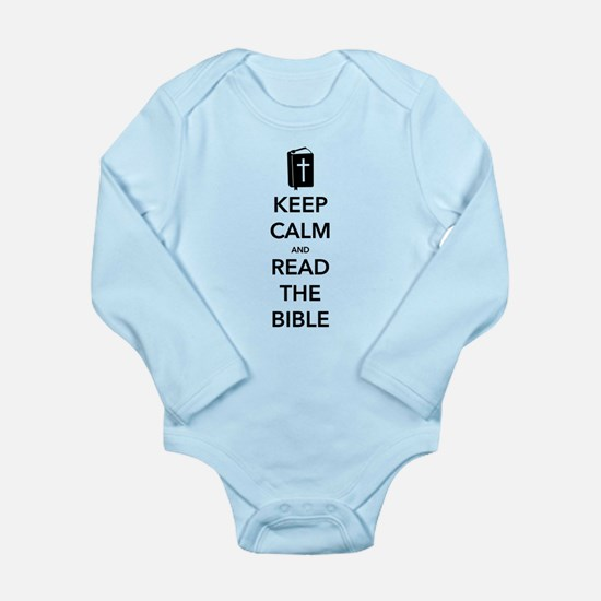 Read Bible Long Sleeve Infant Bodysuit