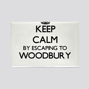 Keep calm by escaping to Woodbury Massachu Magnets
