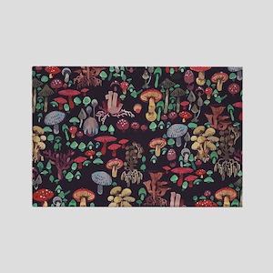 Magic mushrooms pattern Magnets