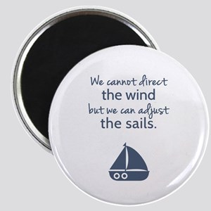 Sail Boat Positive Mindset Quote Magnets