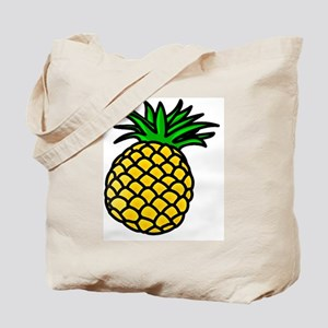 Tropical Summer Pineapple Tote Bag
