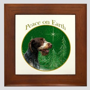 Wirehaired Peace Framed Tile