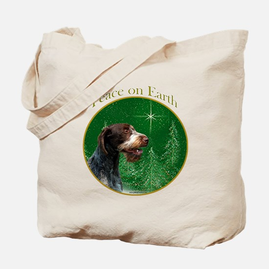 Wirehaired Peace Tote Bag