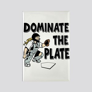 DOMINATE Rectangle Magnet