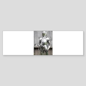 Shining Armor Bumper Sticker