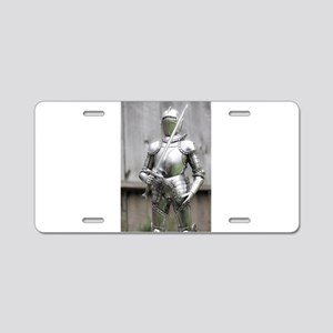 Shining Armor Aluminum License Plate