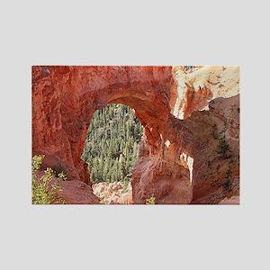 Natural Bridge Arch, Bryce Canyon Rectangle Magnet
