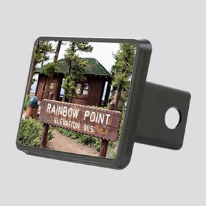 Rainbow Point sign, Bryce  Rectangular Hitch Cover
