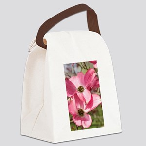 twin blossoms Canvas Lunch Bag