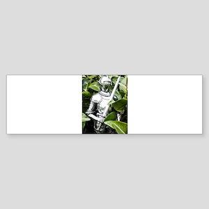 Green Knight Bumper Sticker