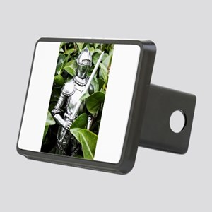 Green Knight Rectangular Hitch Cover