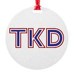 Taekwondo TKD Ornament
