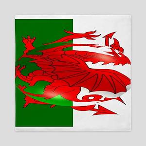 Welsh Flag Queen Duvet