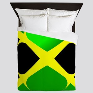 Jamaican Flag Queen Duvet