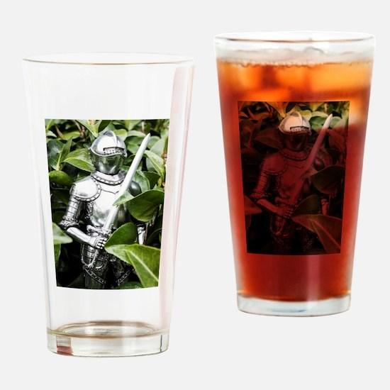 Green Knight Drinking Glass