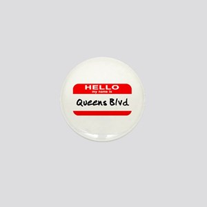 Hello My Name Is Queens Blvd Mini Button