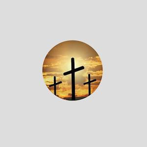 The Cross Mini Button