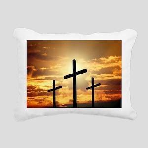 The Cross Rectangular Canvas Pillow