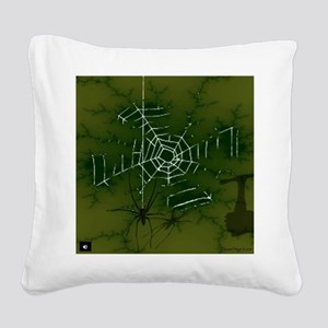 Shadows in the Night Square Canvas Pillow