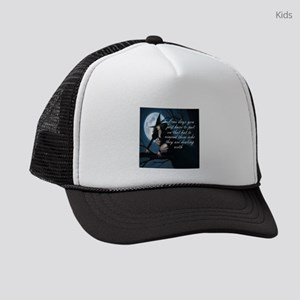 witch humor kids trucker hat