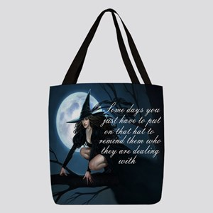 witch humor Polyester Tote Bag