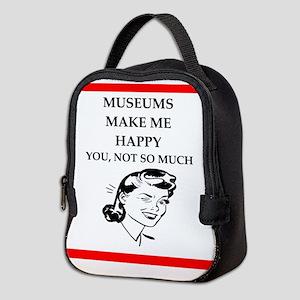 museums Neoprene Lunch Bag