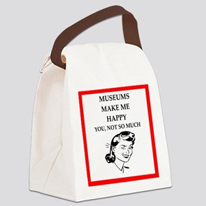 museums Canvas Lunch Bag