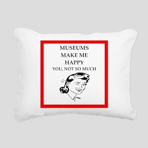 museums Rectangular Canvas Pillow