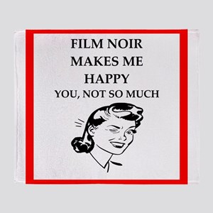 film noir Throw Blanket