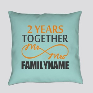 2nd Anniversary Infinity Personali Everyday Pillow