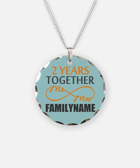 2nd Anniversary Infinity Per Necklace