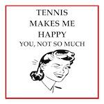 tennis Square Car Magnet 3