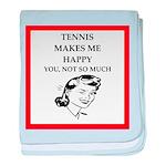 tennis baby blanket
