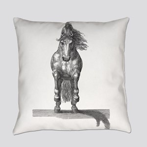 Charging Horse Everyday Pillow