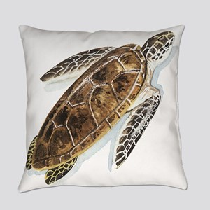 Sea Turtle Everyday Pillow