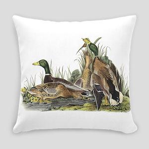 Mallard Duck Everyday Pillow