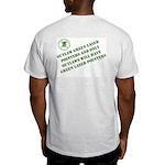 """NGLPA Logo & """"Outlaws"""" Ash Grey T-Shirt"""