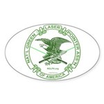 NGLPA Logo Oval Sticker