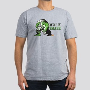 Hulk Color Splash Men's Fitted T-Shirt (dark)
