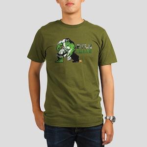 Hulk Color Splash Organic Men's T-Shirt (dark)